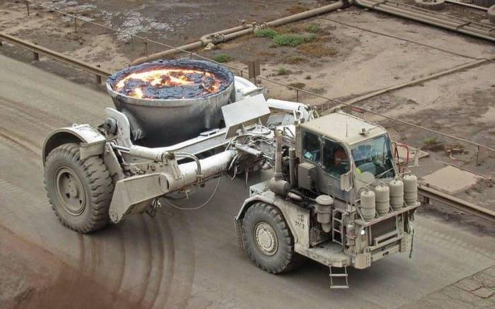Литейный грузовик