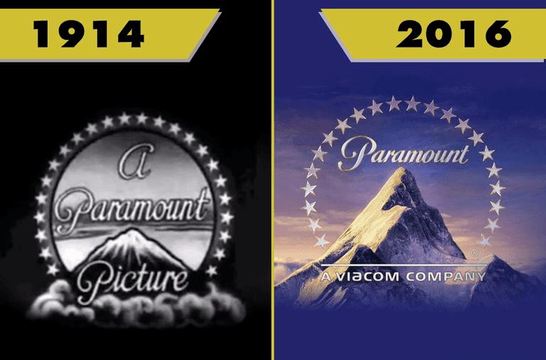 Удивительно видеть, как сильно изменились логотипы голливудских киностудий