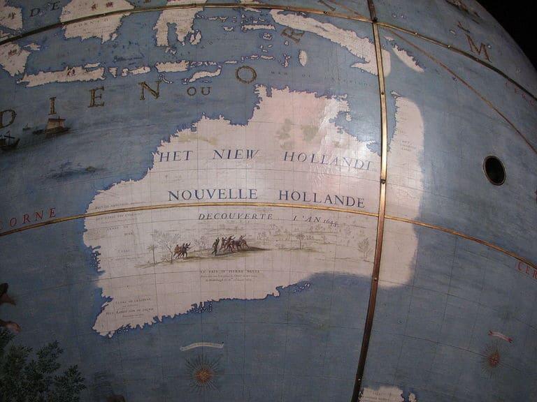 Австралию называли Новой Голландией