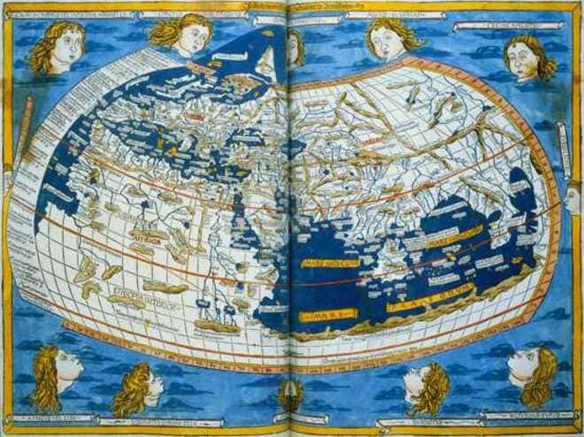 Код карты Птолемея