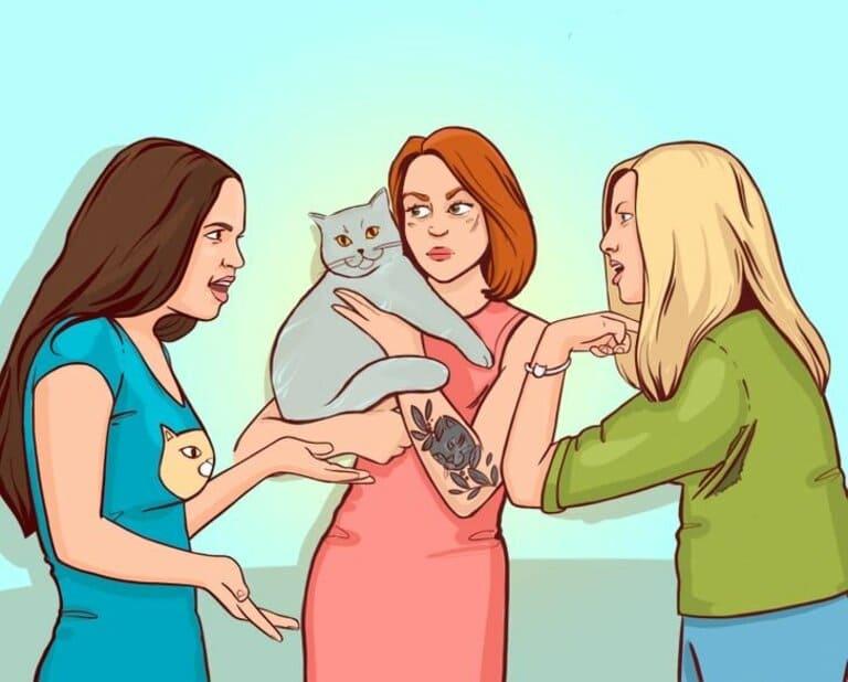 Кто владелица кошки