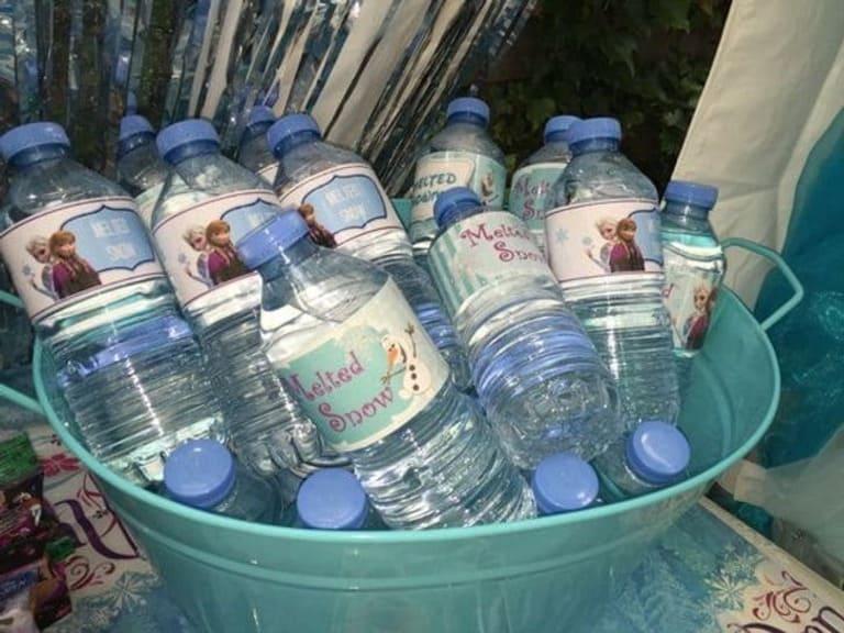 Ледяные бутылки