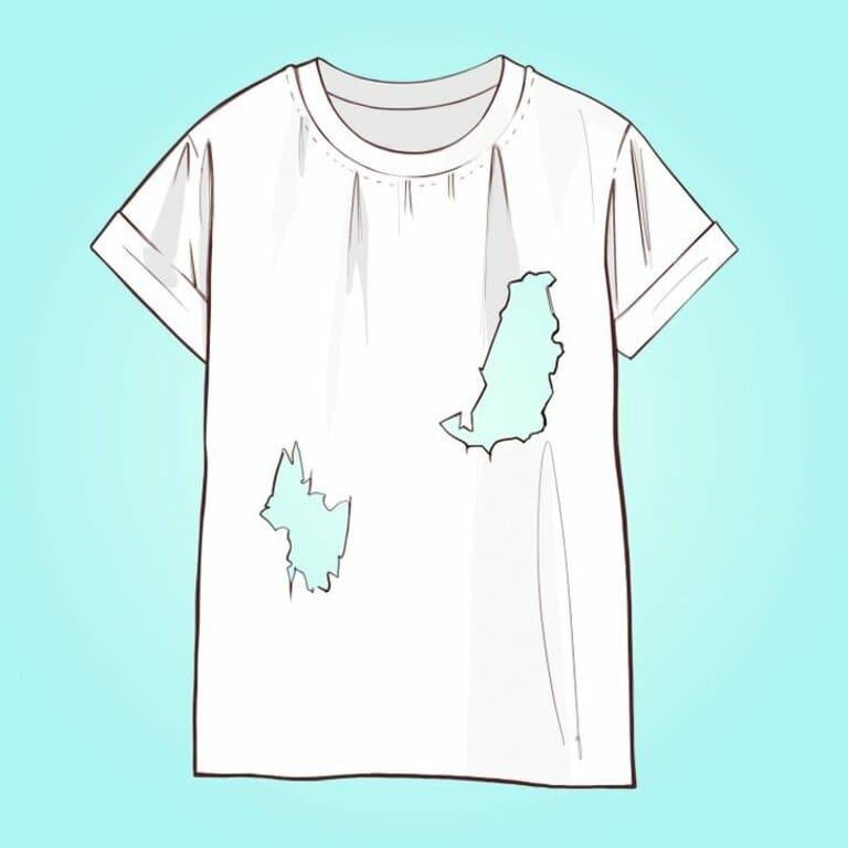 Сколько дыр у этой футболки
