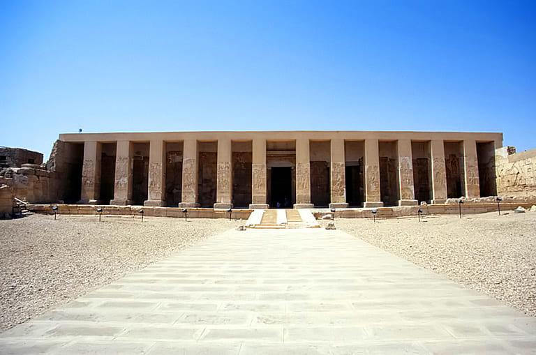 Храм Сети I, также известный как Великий храм Абидоса, Египет (1300 г. до н. э.)