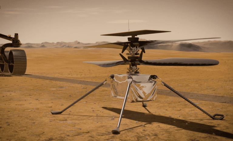 Вертолет Mars Helicopter
