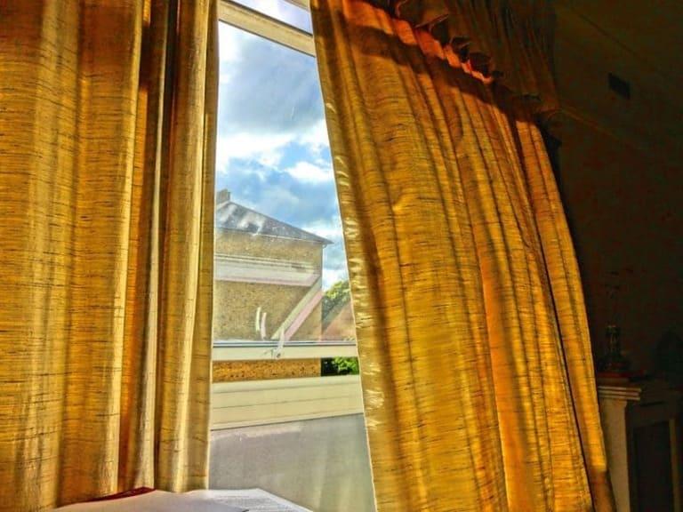 Влажные шторы