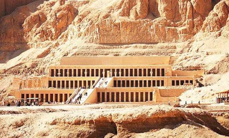 Заупокойный храм Хатшепсут, Верхний Египет (1470 г. до н. э.)