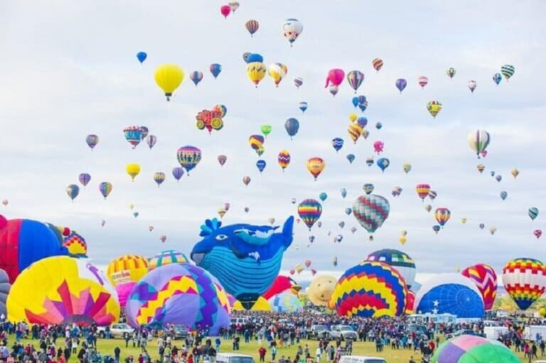 New Mexico: Albuquerque Sunrise Balloon Rides