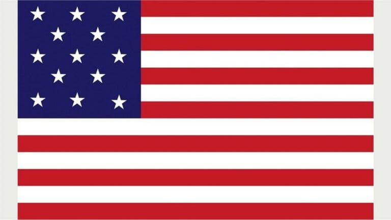 Флаг ВМС США 1777