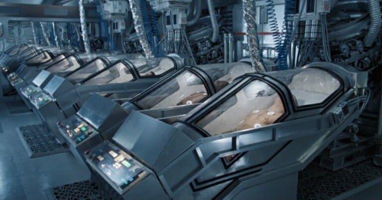 Анабиозная криокамера из фильма «Чужие»