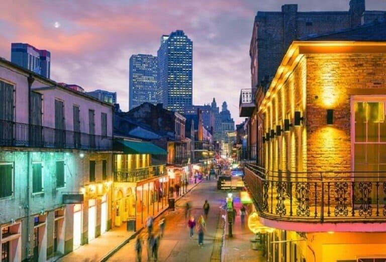 Louisiana: Bourbon Street