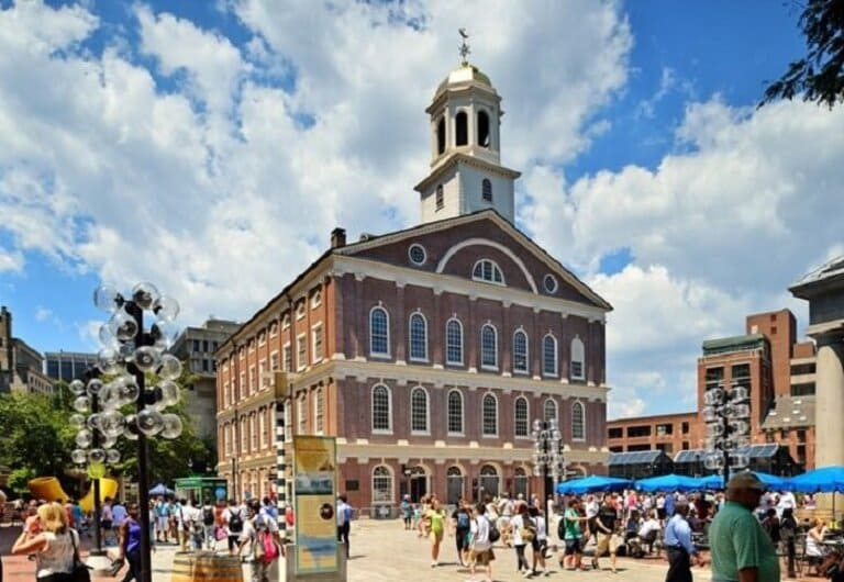 Massachusetts: Faneuil Hall Marketplace