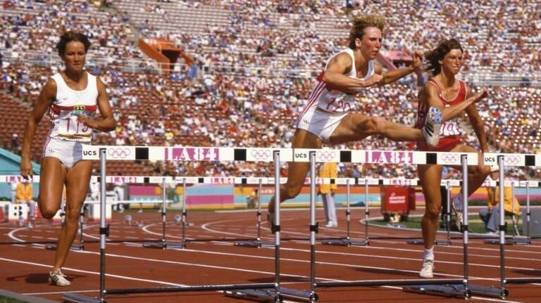 Немецкие атлеты на Олимпиаде-1984 в Лос-Анджелесе
