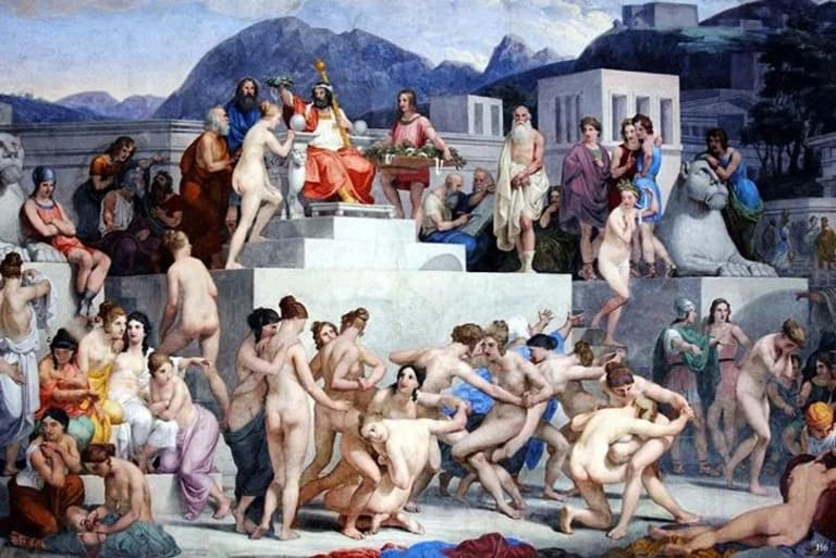 Спартанские женщины