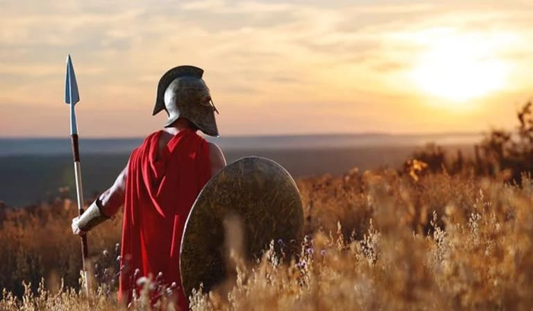 Спартанцы были настолько богаты