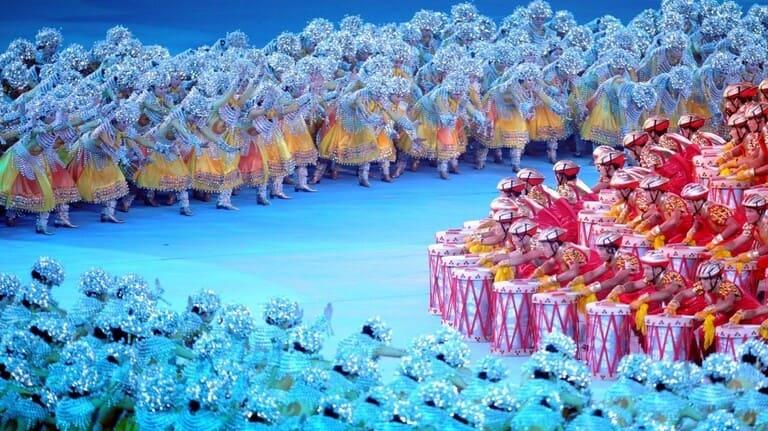 Церемония закрытия Олимпиады-2008 в Пекине.