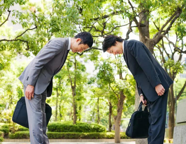 Японские приветствия и прощания