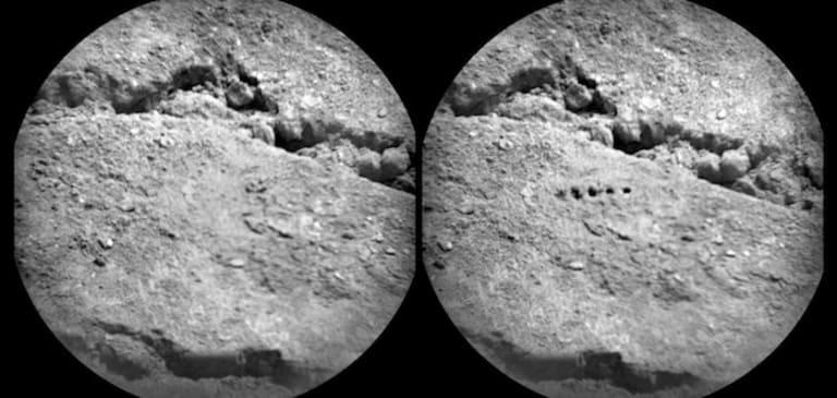 изображение марсианской почвы