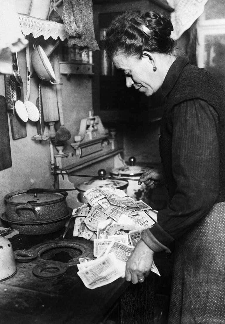 Гиперинфляция в Германии 1920-х годов