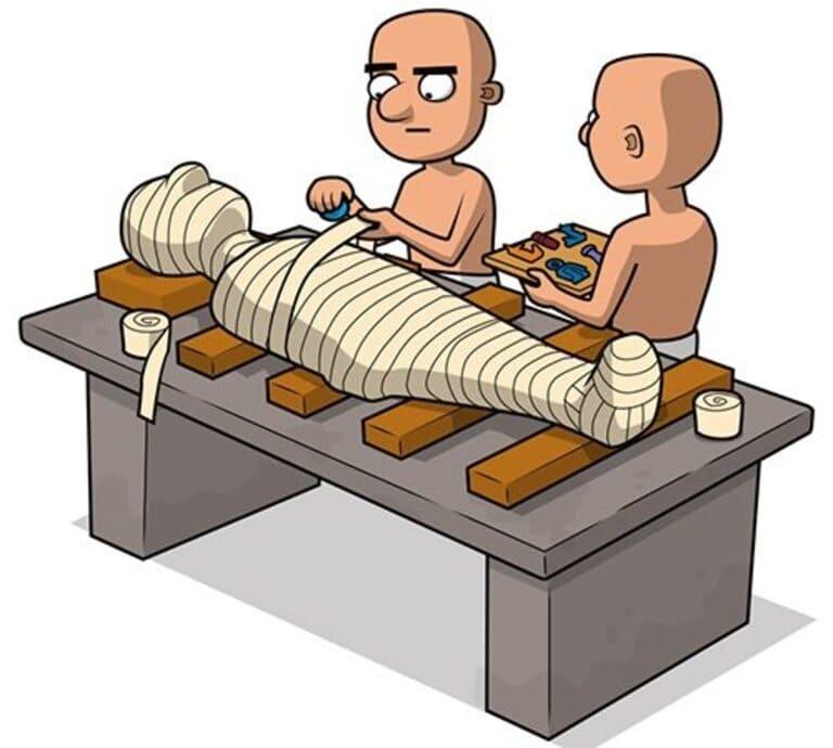 Проведите процедуру обертывания