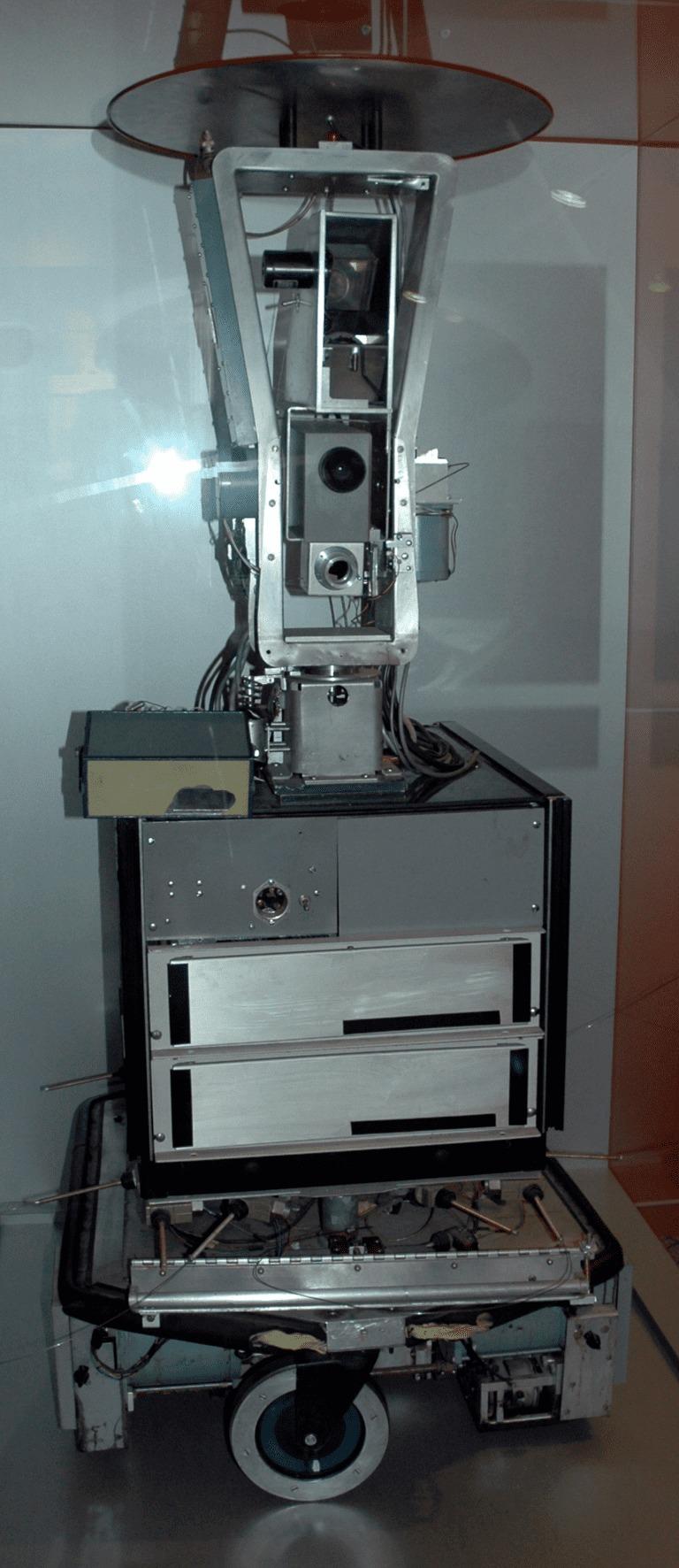 Робот Шейки в Музее компьютерной истории