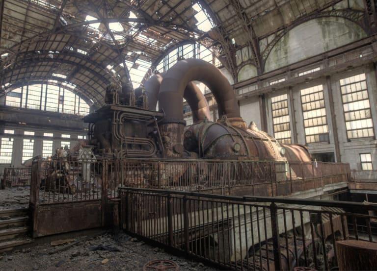 Старая электростанция в Ричмонде