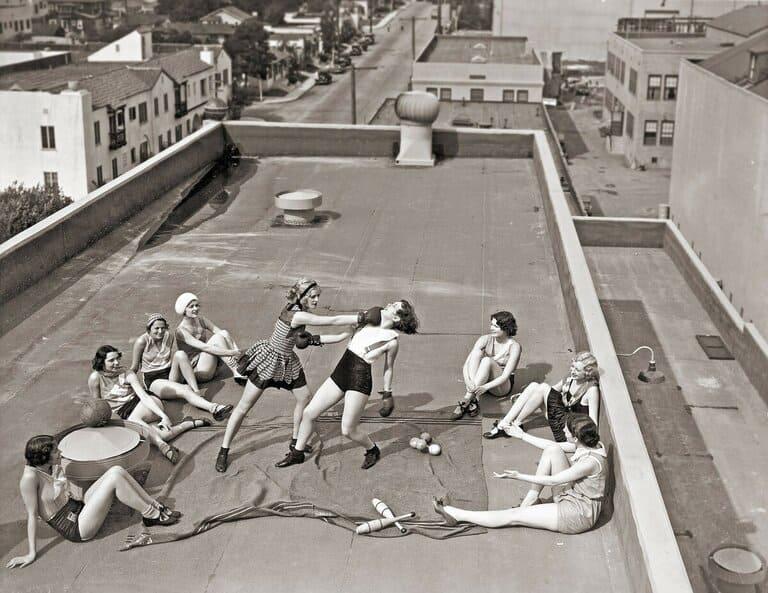 Женский боксерский клуб