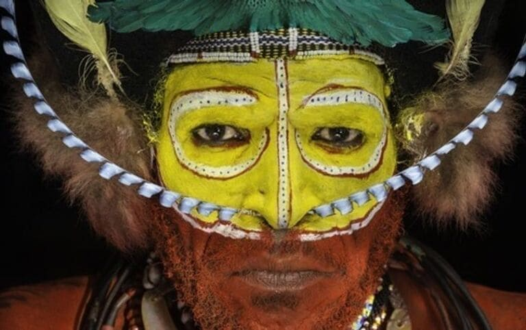 индеец из племени форе