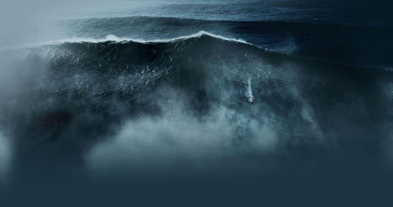 Самые большие волны в океане — на глубине