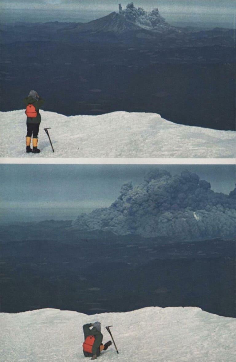 вулкана Сент-Хеленс