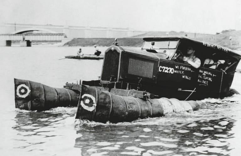 Самые необычные виды транспорта в истории