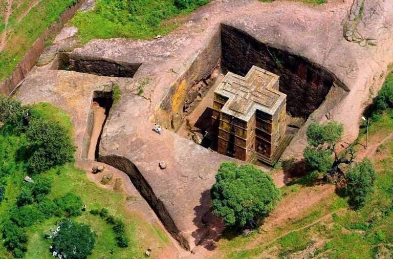 Скальные храмы в Лалибэле