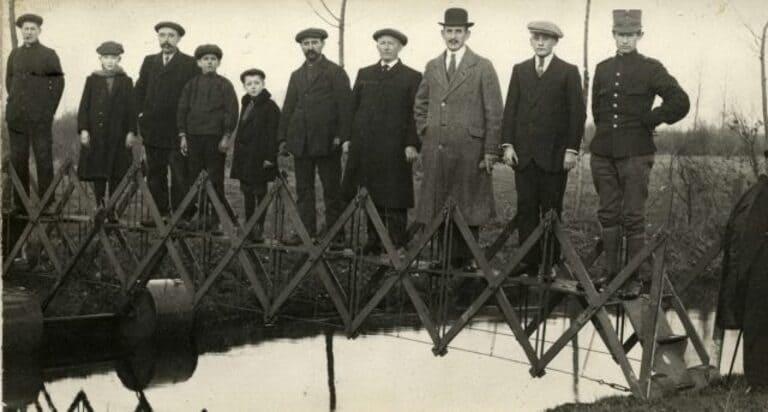 Складной мостик
