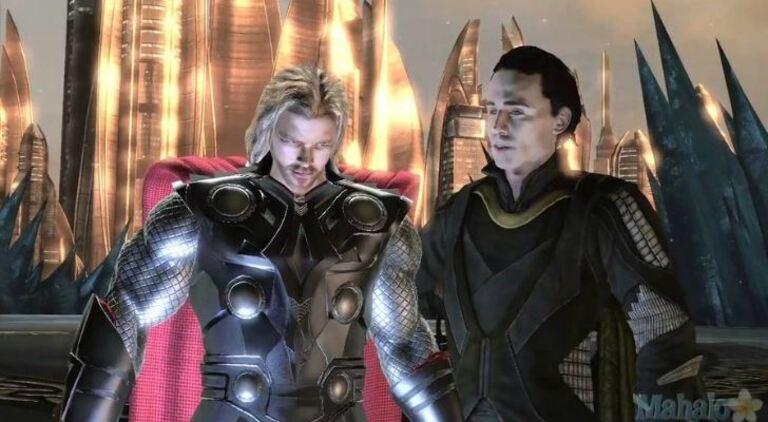 Тор появился в своей первой видеоигре