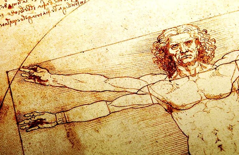 Значение знаменитого рисунка Леонардо да Винчи «Витрувианский человек»