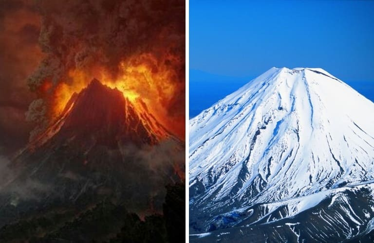 Гора Ородруин (Mount Doom) и Руапеху