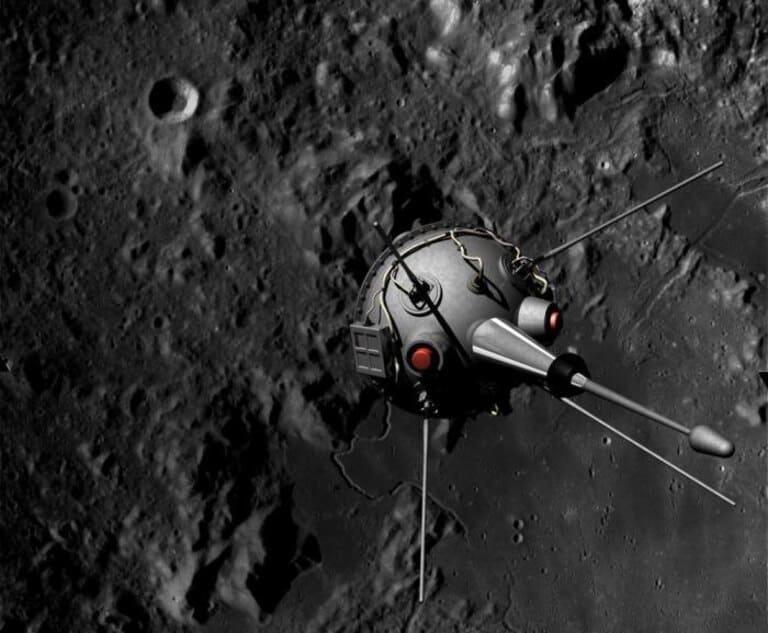 Луна-2 - первый космический аппарат, достигший Луны