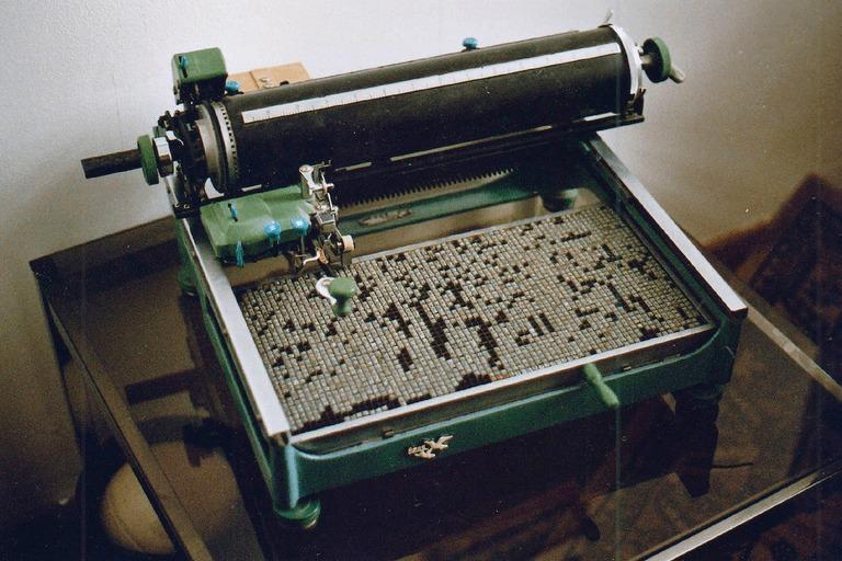 Первая китайская печатная машинка