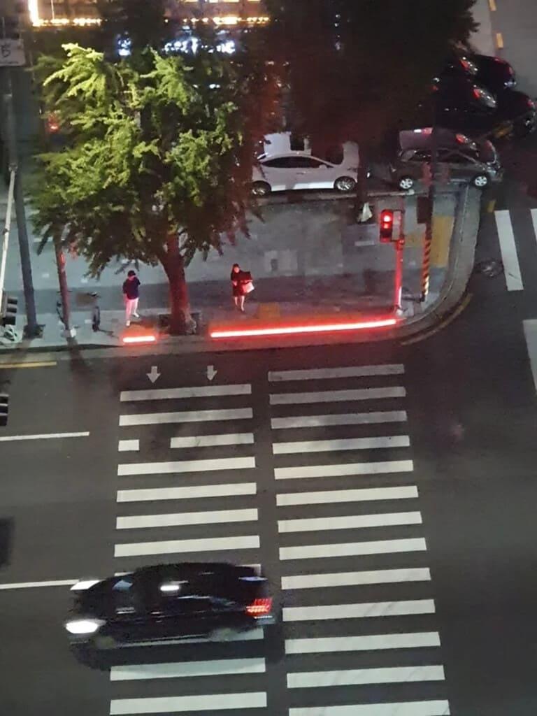 Пешеходные переходы в Южной Корее