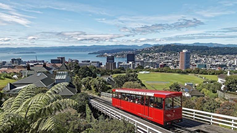 Столица Новой Зеландии - Веллингтон