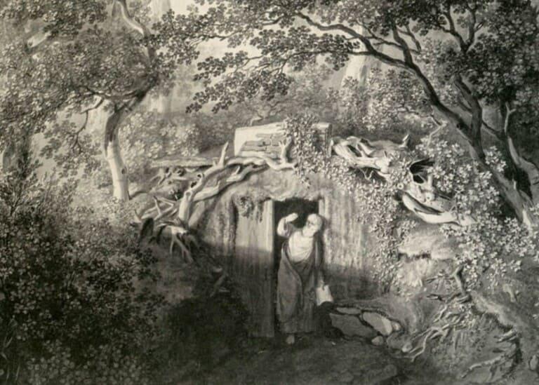 садовых отшельников