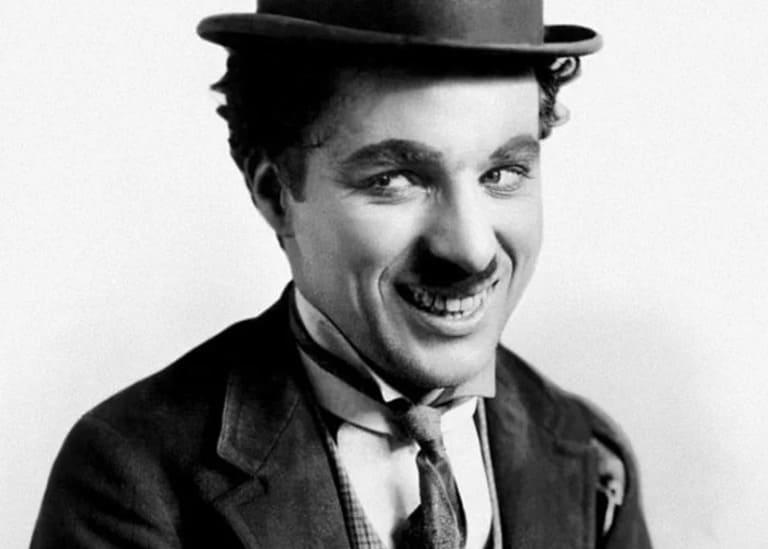 у Чарли Чаплина
